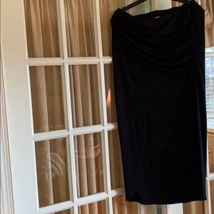 CAbi Black maxi skirt